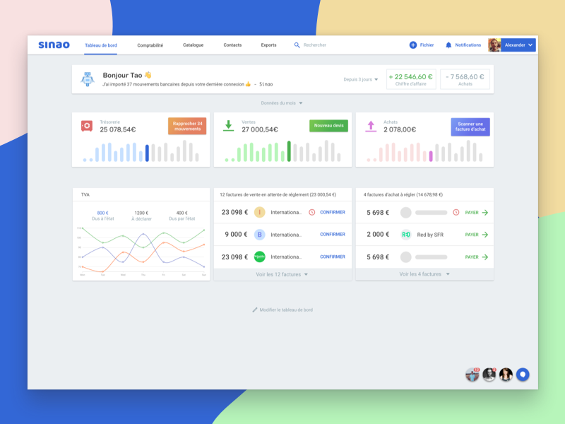 Dashboard accounting software material dashboard software app accounting