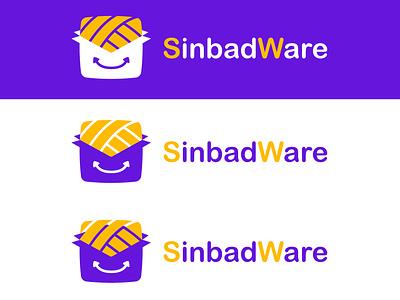 Logo boxed Sindabware shop ecommerce logo