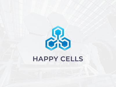 Happy Cells Logo
