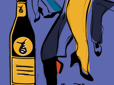 Fernet Branca illustration