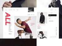 HI—PE Clothing Store Shop Page
