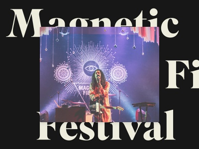 Magnetic Fields Festival Stage Design 2014 illustration stage design interior lighting print space environment stage design