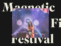 Magnetic Fields Festival Stage Design 2014