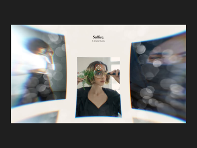 WebGL Gallery Animation distort motion 3d photography layout interaction after effects animation ux grid colors web ui design