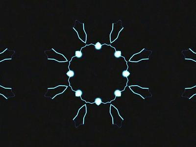 Electric kaleidoscope electricity motion animation motion art motion after effects animation design