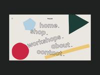 Store Menu Animation