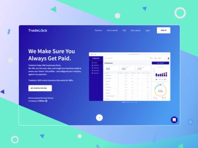 Tradelock Insurance - Landing Page