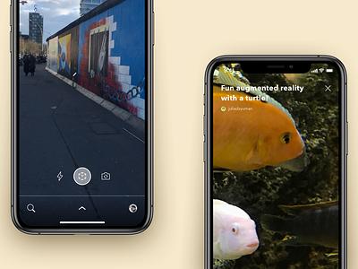 ar ios application kiev app ios augmentedreality interface designthinking ux ui