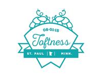 Toftness Pint Glass