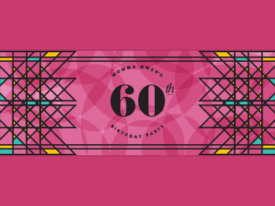 Momma Gwen's 60th big deal card 60th birthday