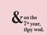 Our Wedding | Save the Dates