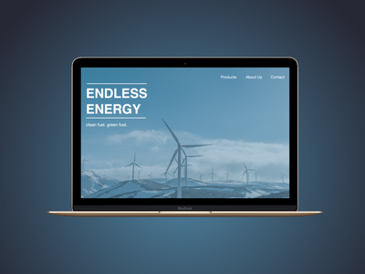Daily UI #3 - Landing Page visual design ui design web design interaction design daily ui landing page website web sketch