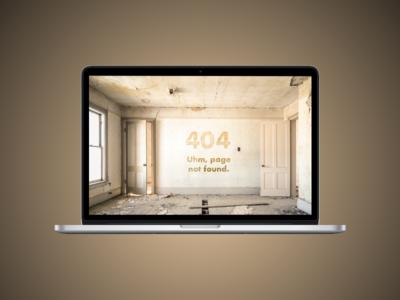 Daily UI #8 - 404 ui design web design visual design interaction design daily ui error page 404 web sketch
