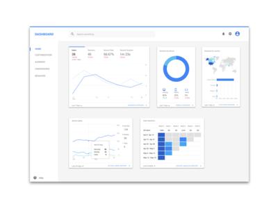Dashboard sketch user interface design ui web dashboard