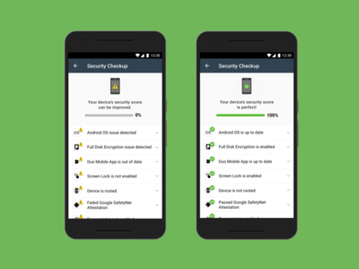 Security Checkup Redesign sketch duo mobile mobile app android ui user interface design ui
