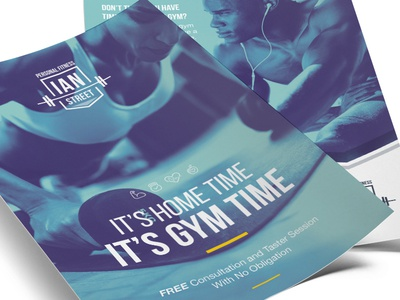 Ian Street Personal Fitness - Leaflets