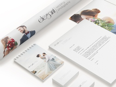 Elegant Wedding Photography - Stationery