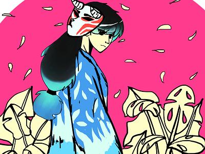 Stay wonder! Kitsune artwork digitalart illustration
