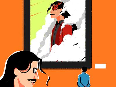 Jean St.pierre Jr III, part timer. digitalartist indonesia designer artwork digitalart illustration