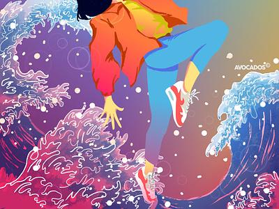 Leap of faith digitalartist indonesia designer artwork digitalart illustration