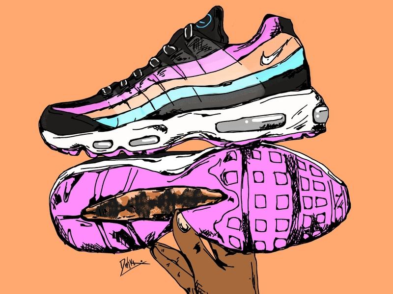 Airmax95 Have A Nike Day nike air sneakerhead illustration