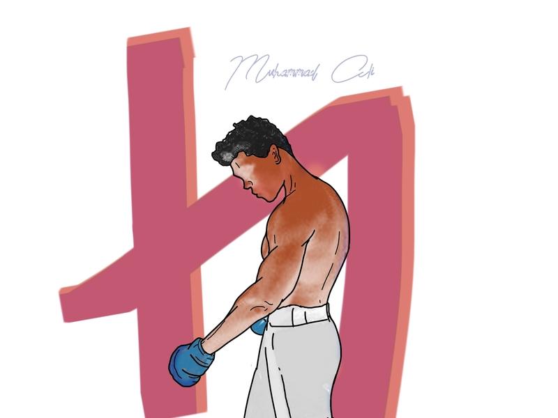 The Legend One design illustration indonesia designer m. ali fighter