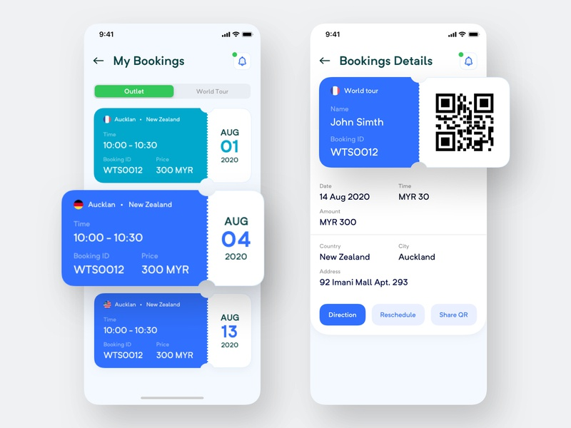 docBook - Personal Doctor Booking App (Part 2) world tour outlet details my booking work tour 2020 clean new patient app person design appstore medical apps booking doctor personal