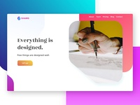 Home Page Design Concept