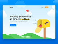 Maile - Landing Page Concept