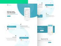 App Landing Page