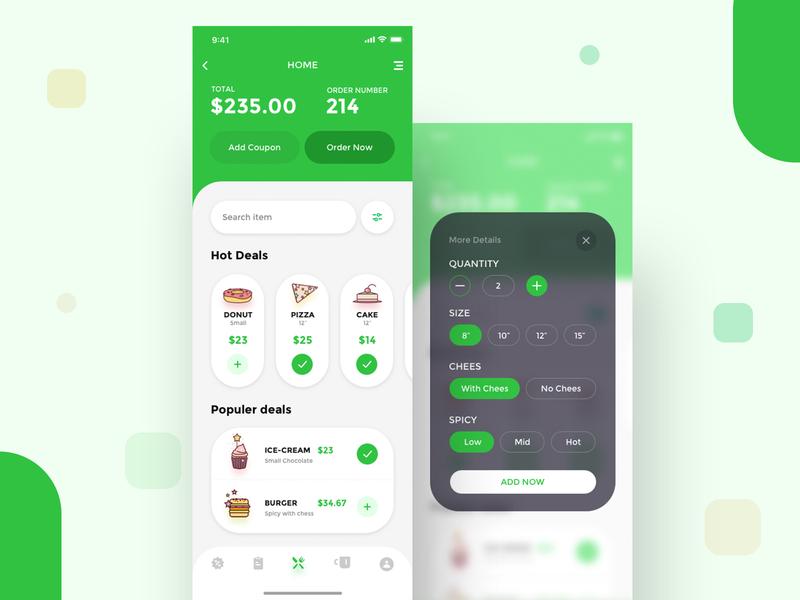 Restaurant Billing App new ux ui uiturtle trendy 2019 management order software price food apps billing restaurant