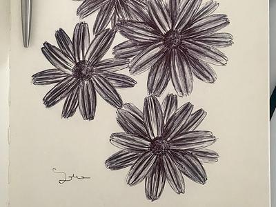 Ballpen Flower