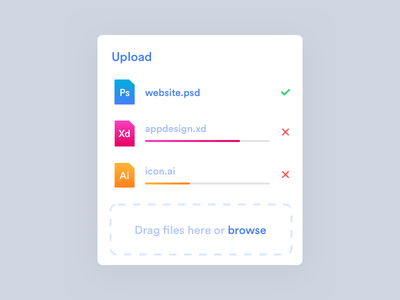 File Upload illustration design ui typography icon ux branding app web file upload dailyui 031