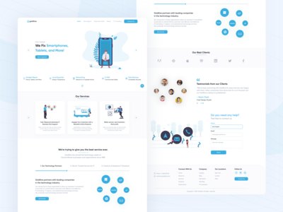 IT Services Landing Page 👨🏻💻