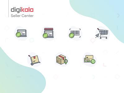 Digikala Seller Center Icons