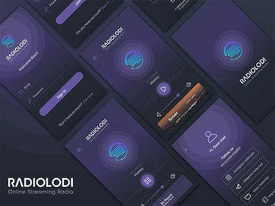RadioLodi Application