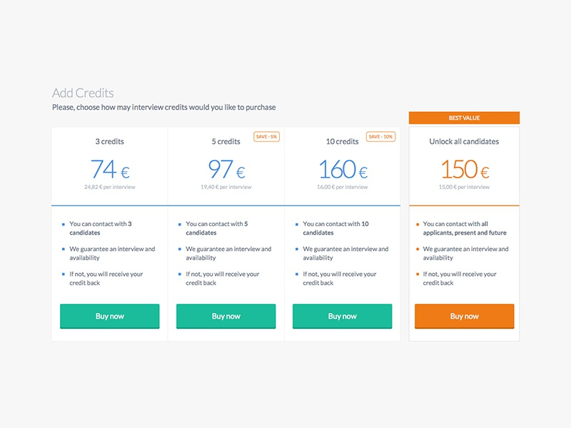 Pricing clean flat pricing minimal shop price checkout ui payment
