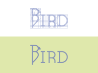 Bird Logo Construction
