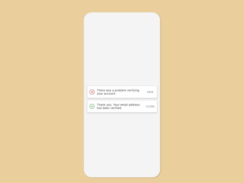 Dailu UI 11 - Alerts