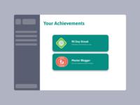 Badge UI badge design achievements badge illustration ux 100daysofui productdesign dailyui ui design