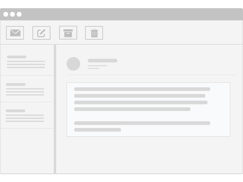 Open Email Illustration productdesign ui illustration graphic design