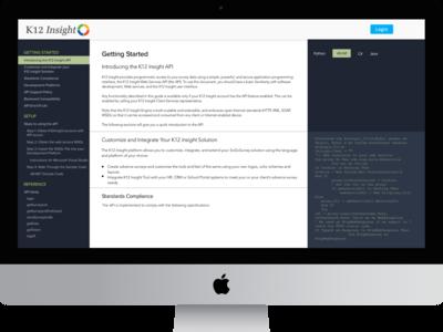 API docs design