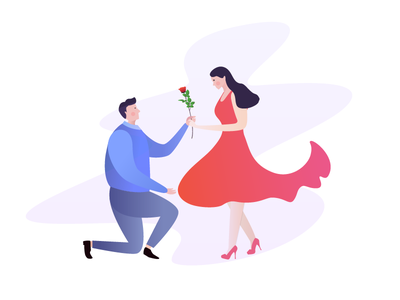 Can you marry me? rose erics propose marry woman