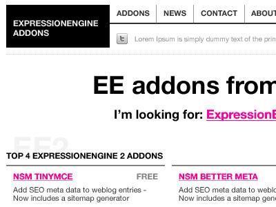 expressionengine-addons.com expressionengine newism expressionengine-addons eecms
