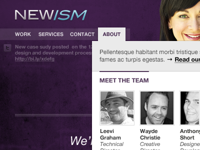 newism.com.au v2 mockup newism