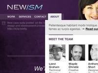 newism.com.au v2 mockup