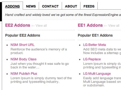 expressionengine-addons.com expressionengine navigation newism expressionengine-addons eecms