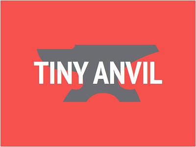 Tiny Anvil tiny anvil web design site branding agency red tiny anvil