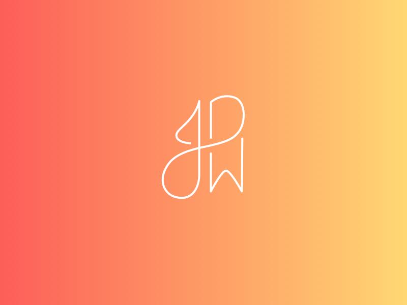 JDW - Colors colors color scheme branding monogram personal jdw j d w logotype