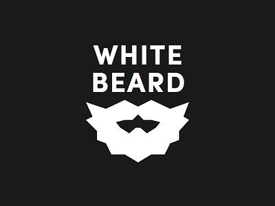 White Beard Final branding beard beards mechanical logo symbol